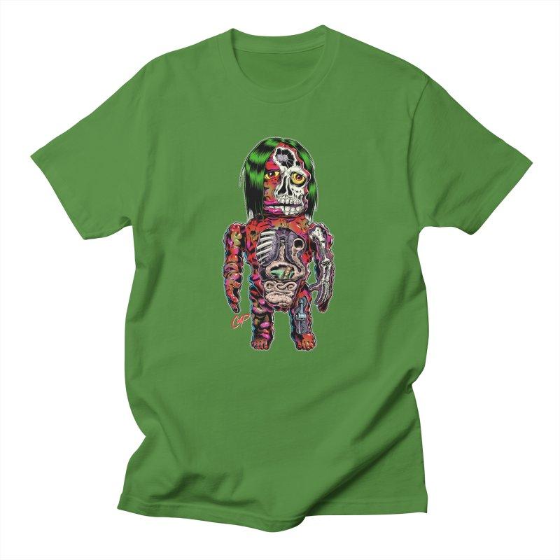 DISSECTED CAVEMAN Women's Regular Unisex T-Shirt by The Art of Coop