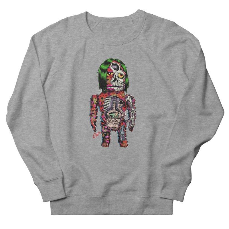DISSECTED CAVEMAN Women's French Terry Sweatshirt by artofcoop's Artist Shop