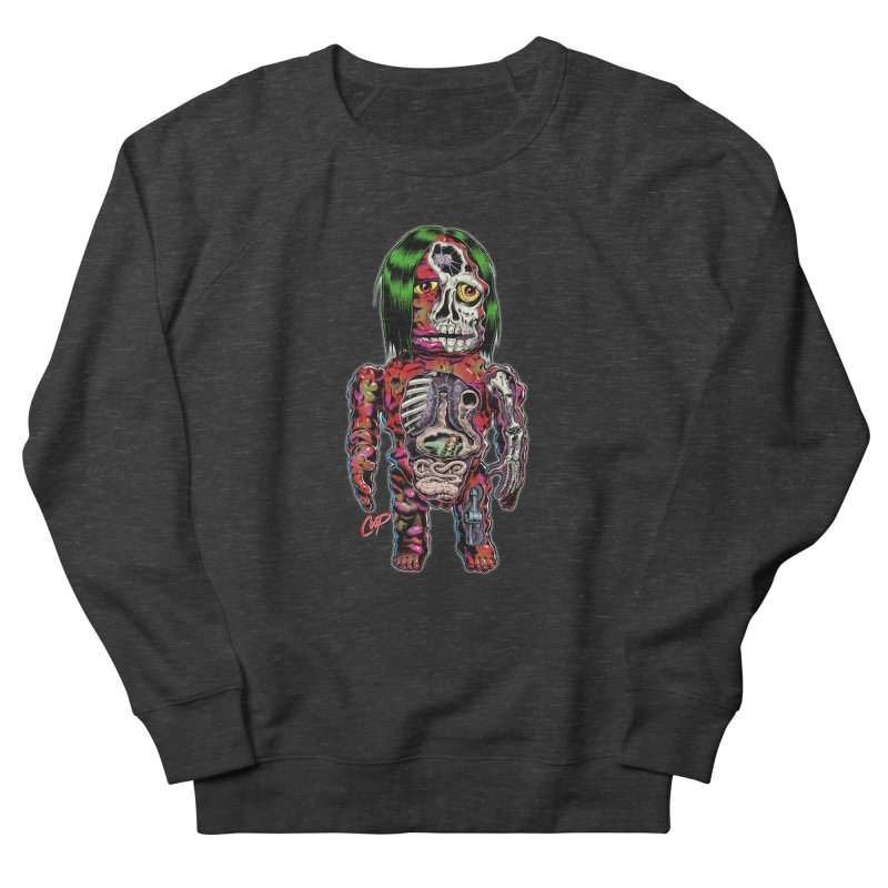 DISSECTED CAVEMAN Men's French Terry Sweatshirt by The Art of Coop