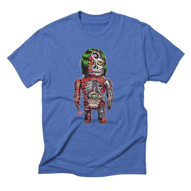 DISSECTED CAVEMAN Men's Triblend T-Shirt by artofcoop's Artist Shop