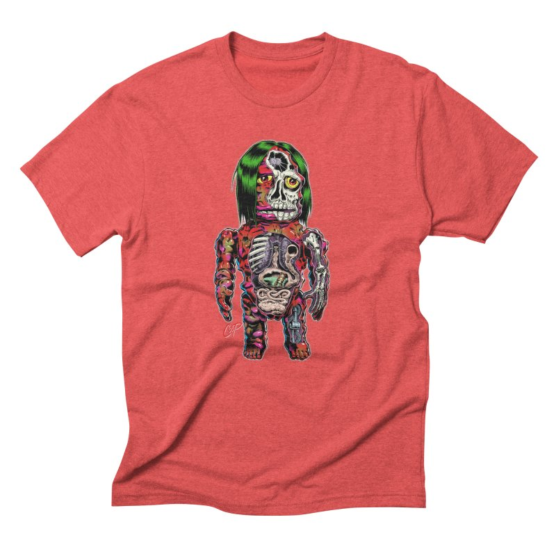 DISSECTED CAVEMAN Men's Triblend T-Shirt by The Art of Coop