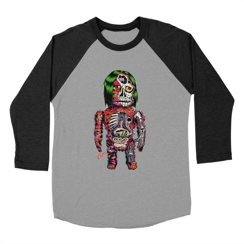 DISSECTED CAVEMAN Women's Baseball Triblend Longsleeve T-Shirt by artofcoop's Artist Shop