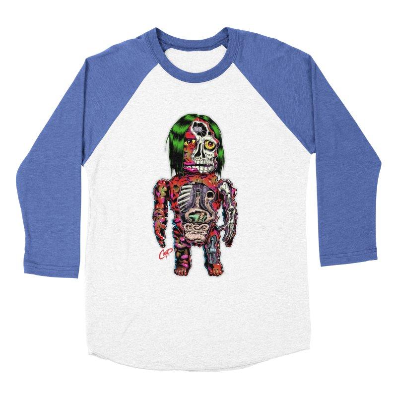 DISSECTED CAVEMAN Men's Baseball Triblend T-Shirt by artofcoop's Artist Shop