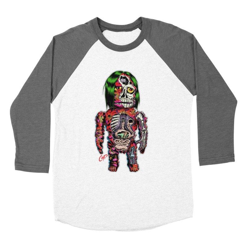 DISSECTED CAVEMAN Men's Baseball Triblend Longsleeve T-Shirt by artofcoop's Artist Shop