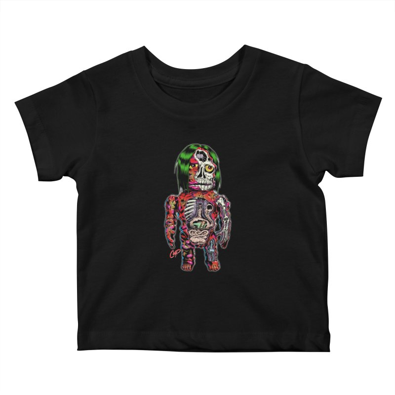 DISSECTED CAVEMAN Kids Baby T-Shirt by artofcoop's Artist Shop