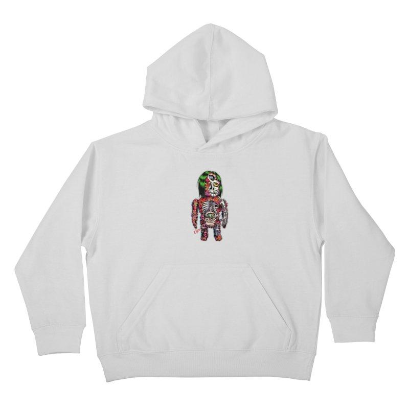 DISSECTED CAVEMAN Kids Pullover Hoody by artofcoop's Artist Shop