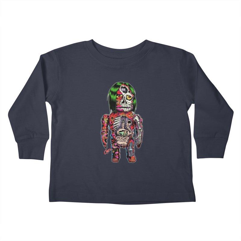 DISSECTED CAVEMAN Kids Toddler Longsleeve T-Shirt by artofcoop's Artist Shop