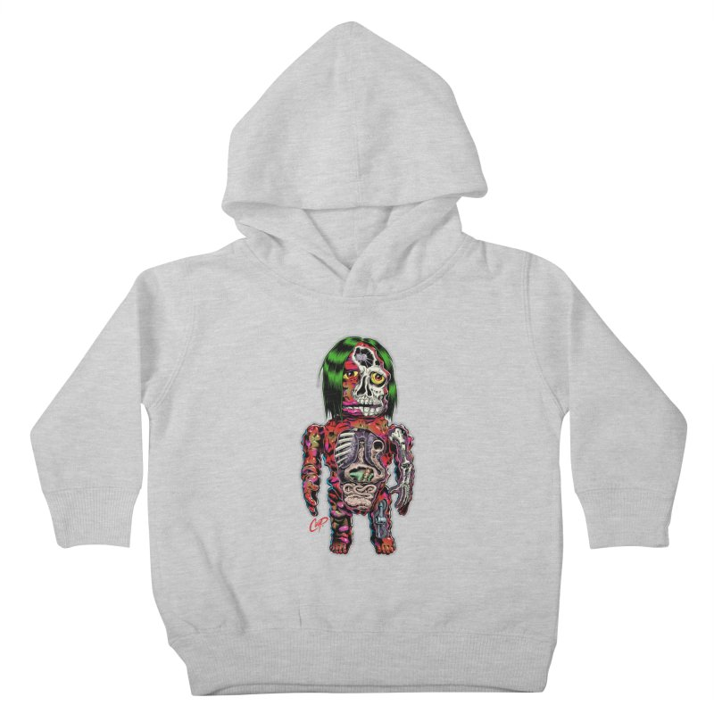 DISSECTED CAVEMAN Kids Toddler Pullover Hoody by The Art of Coop