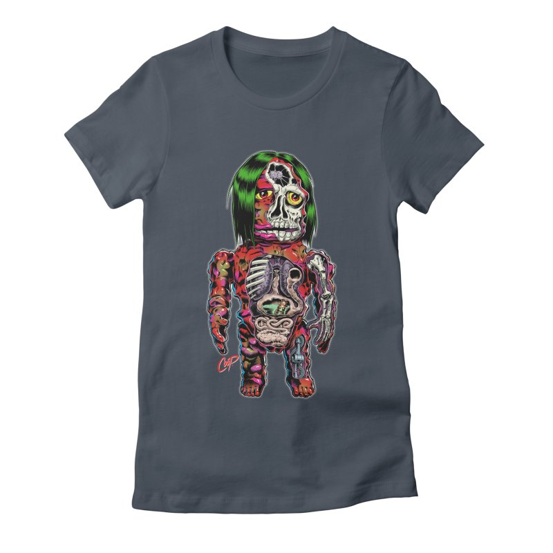 DISSECTED CAVEMAN Women's T-Shirt by The Art of Coop