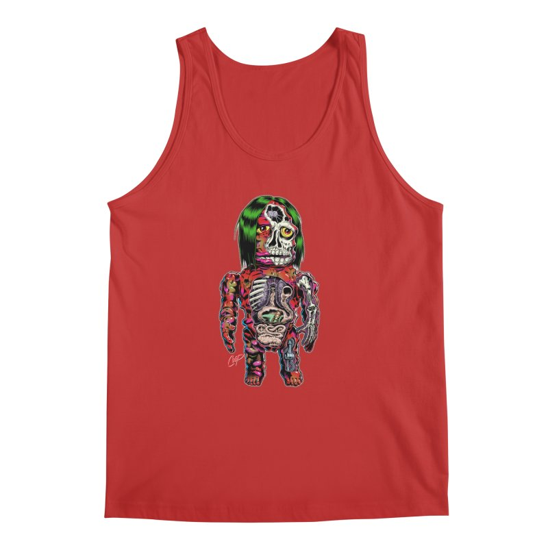 DISSECTED CAVEMAN Men's Regular Tank by artofcoop's Artist Shop