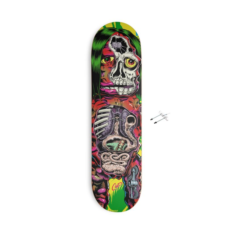 DISSECTED CAVEMAN Accessories Skateboard by The Art of Coop