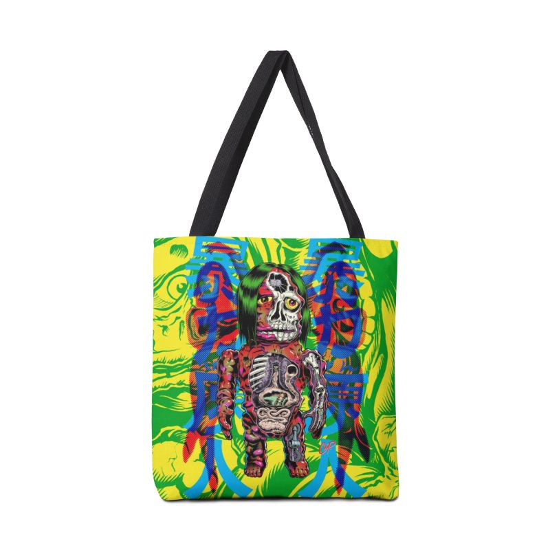 DISSECTED CAVEMAN Accessories Bag by The Art of Coop