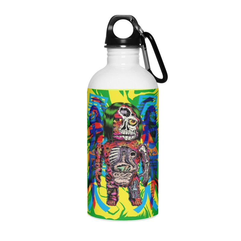 DISSECTED CAVEMAN Accessories Water Bottle by artofcoop's Artist Shop