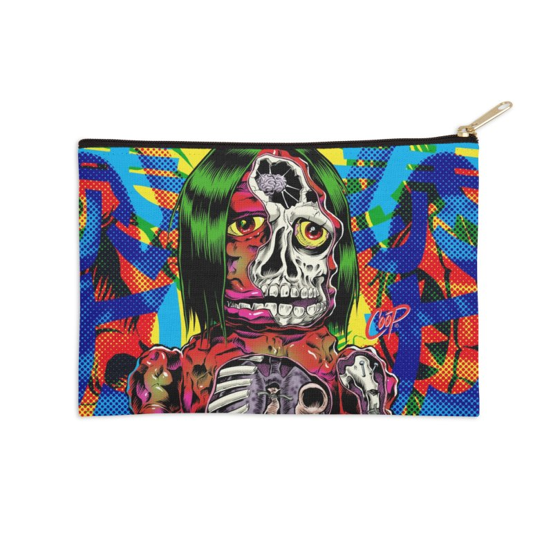 DISSECTED CAVEMAN Accessories Zip Pouch by artofcoop's Artist Shop