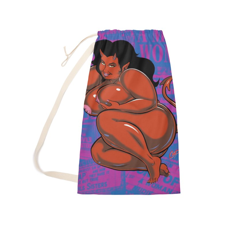 CURVILICIOUS Accessories Laundry Bag Bag by The Art of Coop