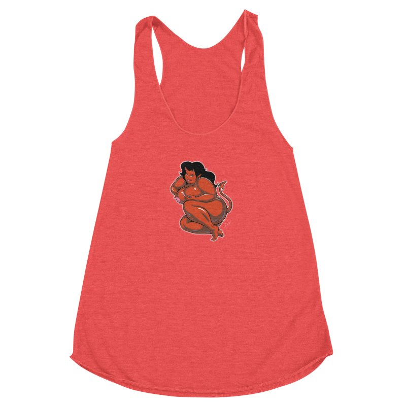 CURVILICIOUS Women's Tank by The Art of Coop