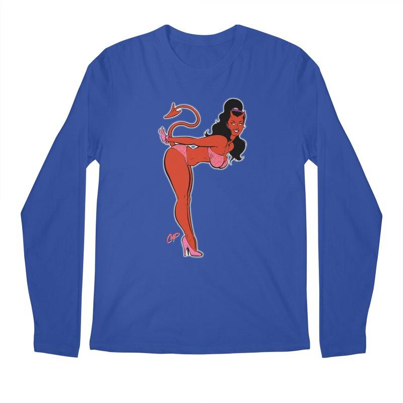 THE DEVIL'S BIKINI Men's Regular Longsleeve T-Shirt by artofcoop's Artist Shop