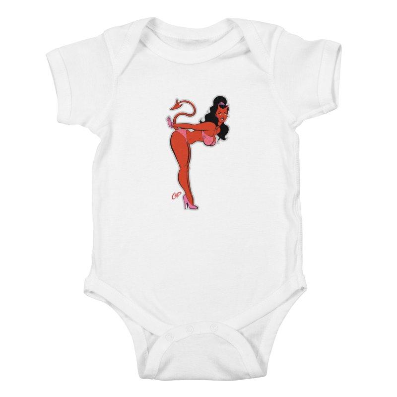 THE DEVIL'S BIKINI Kids Baby Bodysuit by artofcoop's Artist Shop