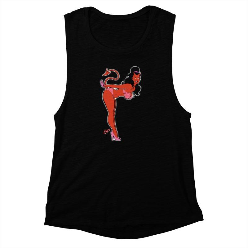 THE DEVIL'S BIKINI Women's Muscle Tank by artofcoop's Artist Shop