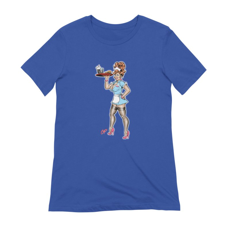 WAITRESS Women's Extra Soft T-Shirt by The Art of Coop