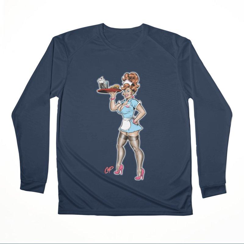 WAITRESS Men's Performance Longsleeve T-Shirt by The Art of Coop