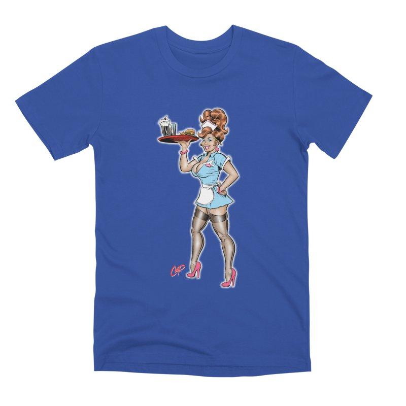 WAITRESS Men's Premium T-Shirt by The Art of Coop