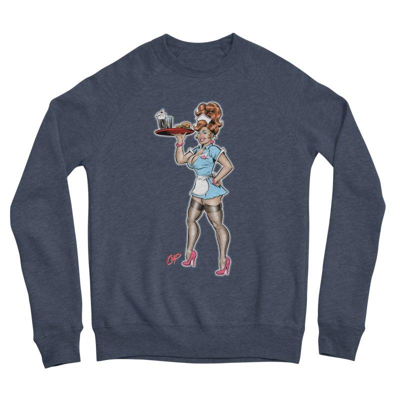 WAITRESS Women's Sponge Fleece Sweatshirt by The Art of Coop