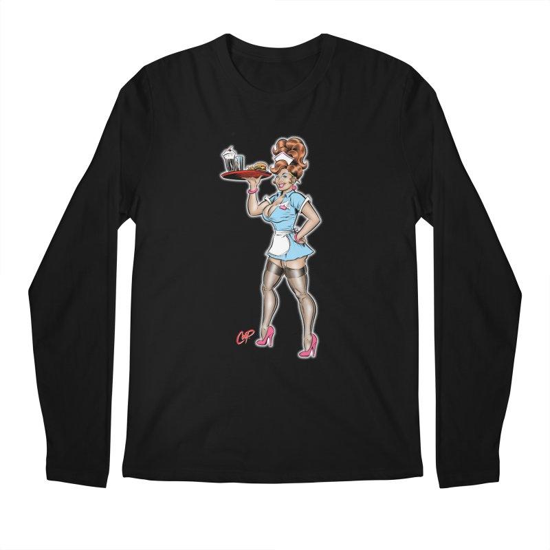 WAITRESS Men's Regular Longsleeve T-Shirt by The Art of Coop