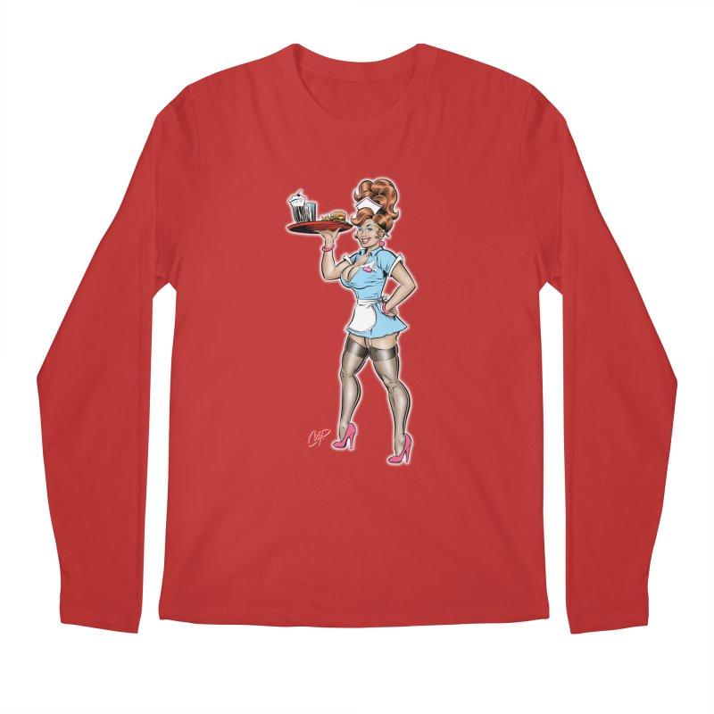 WAITRESS Men's Longsleeve T-Shirt by The Art of Coop