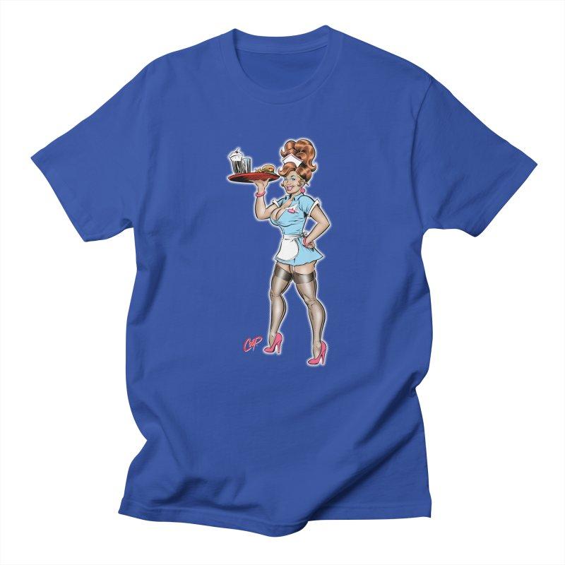 WAITRESS Men's Regular T-Shirt by artofcoop's Artist Shop
