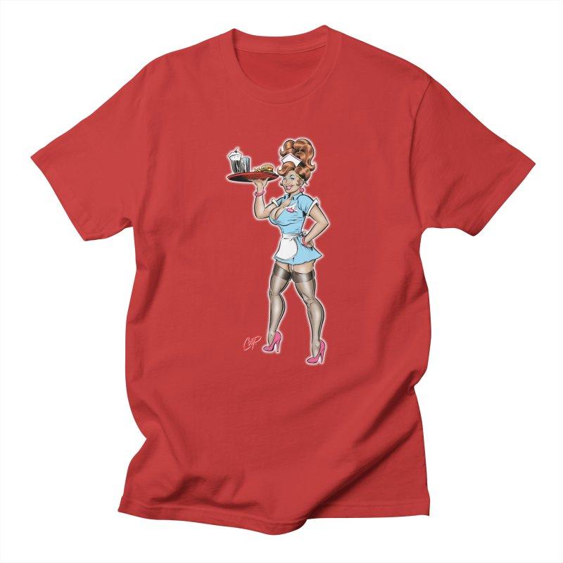WAITRESS Women's Regular Unisex T-Shirt by The Art of Coop