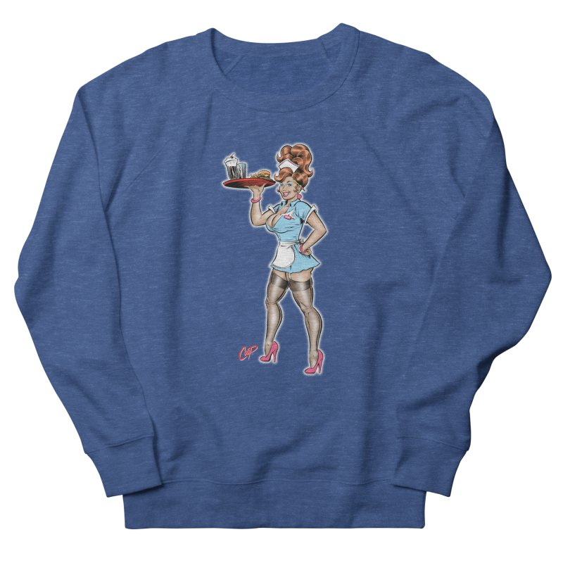 WAITRESS Women's French Terry Sweatshirt by The Art of Coop