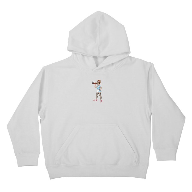 WAITRESS Kids Pullover Hoody by The Art of Coop