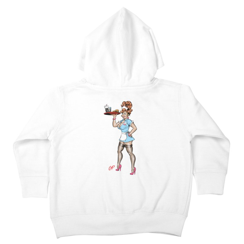 WAITRESS Kids Toddler Zip-Up Hoody by The Art of Coop