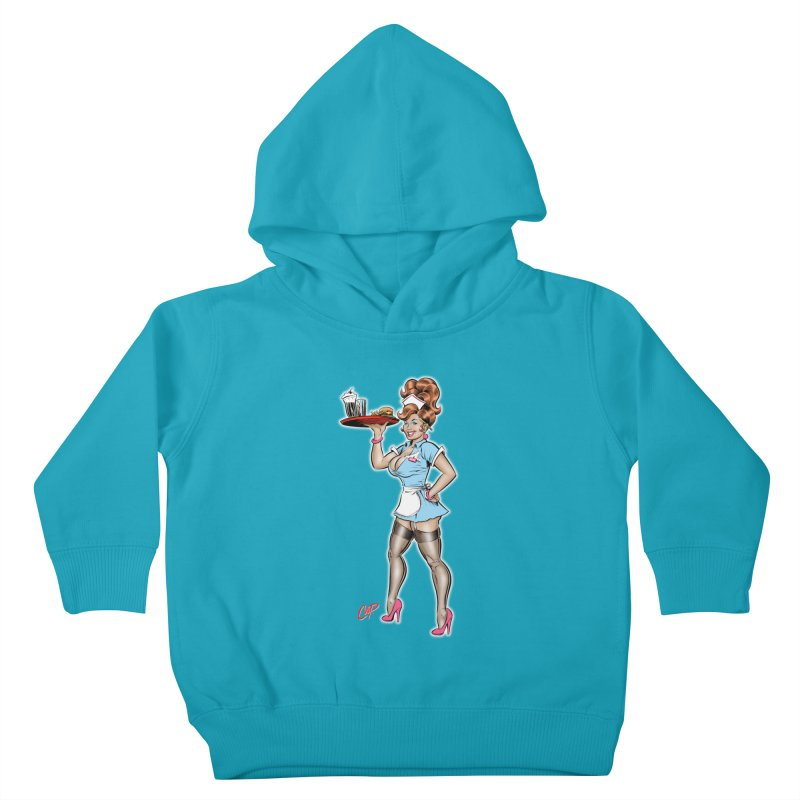 WAITRESS Kids Toddler Pullover Hoody by The Art of Coop
