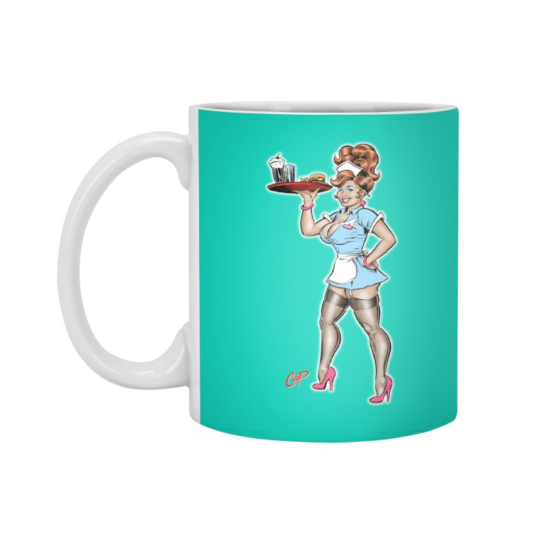 WAITRESS Accessories Standard Mug by The Art of Coop