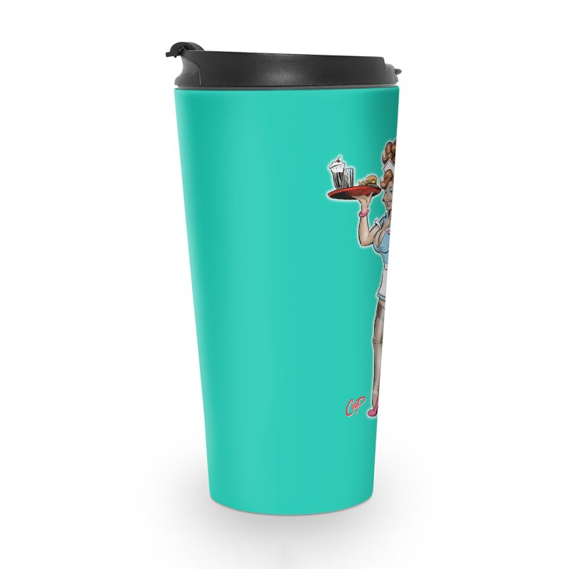 WAITRESS Accessories Travel Mug by The Art of Coop