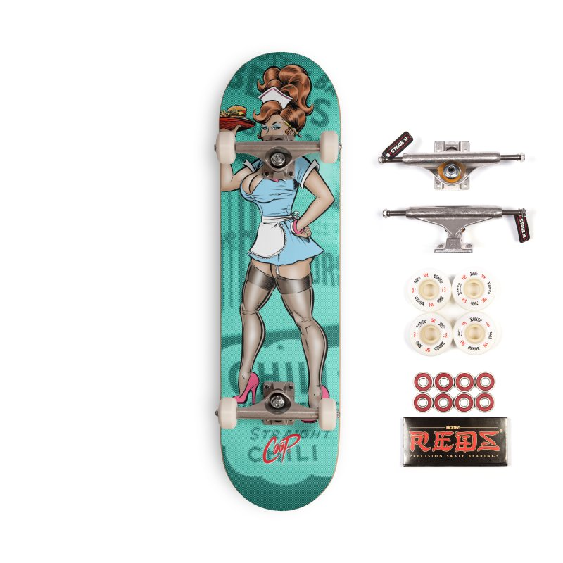 WAITRESS Accessories Skateboard by The Art of Coop