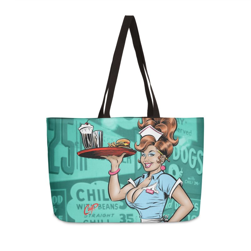 WAITRESS Accessories Weekender Bag Bag by The Art of Coop