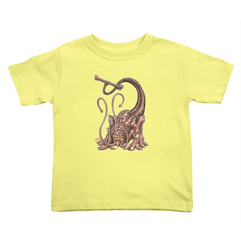 RUST NEVER SLEEPS Kids Toddler T-Shirt by The Art of Coop