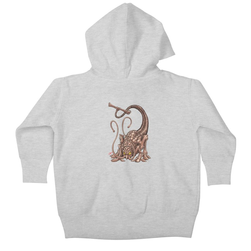 RUST NEVER SLEEPS Kids Baby Zip-Up Hoody by artofcoop's Artist Shop