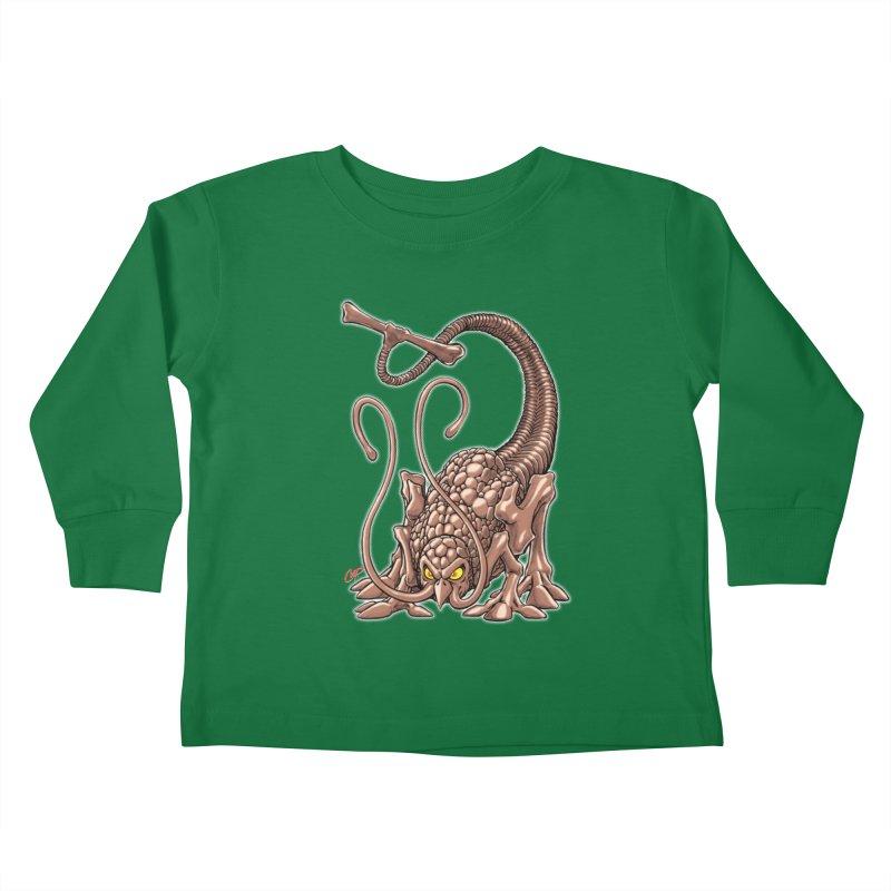 RUST NEVER SLEEPS Kids Toddler Longsleeve T-Shirt by The Art of Coop