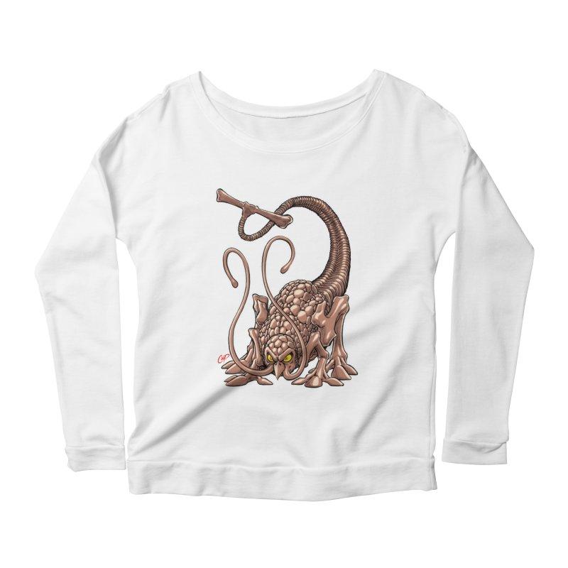 RUST NEVER SLEEPS Women's Scoop Neck Longsleeve T-Shirt by The Art of Coop
