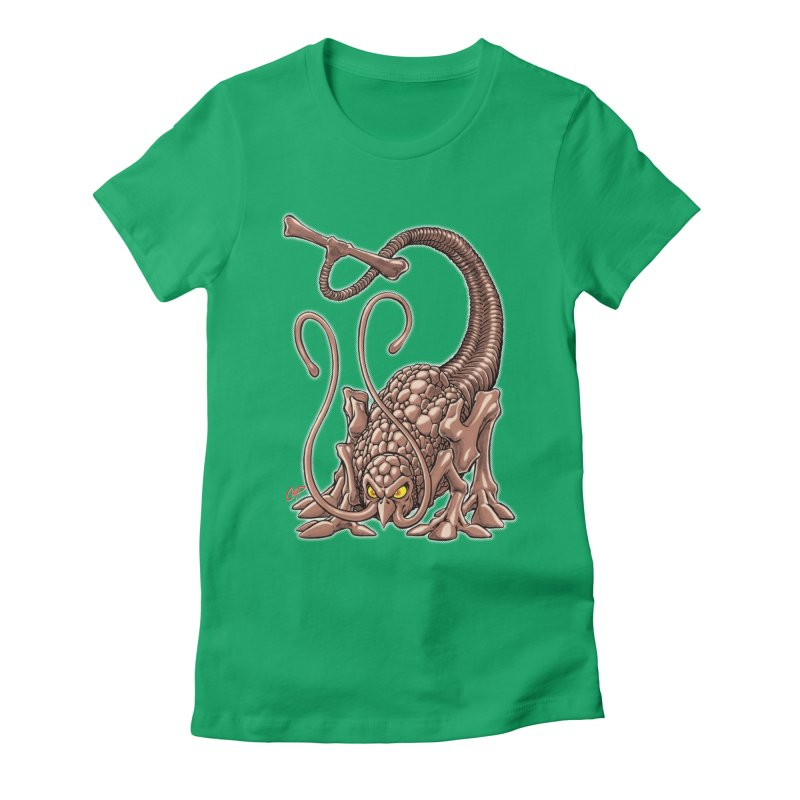 RUST NEVER SLEEPS Women's Fitted T-Shirt by The Art of Coop