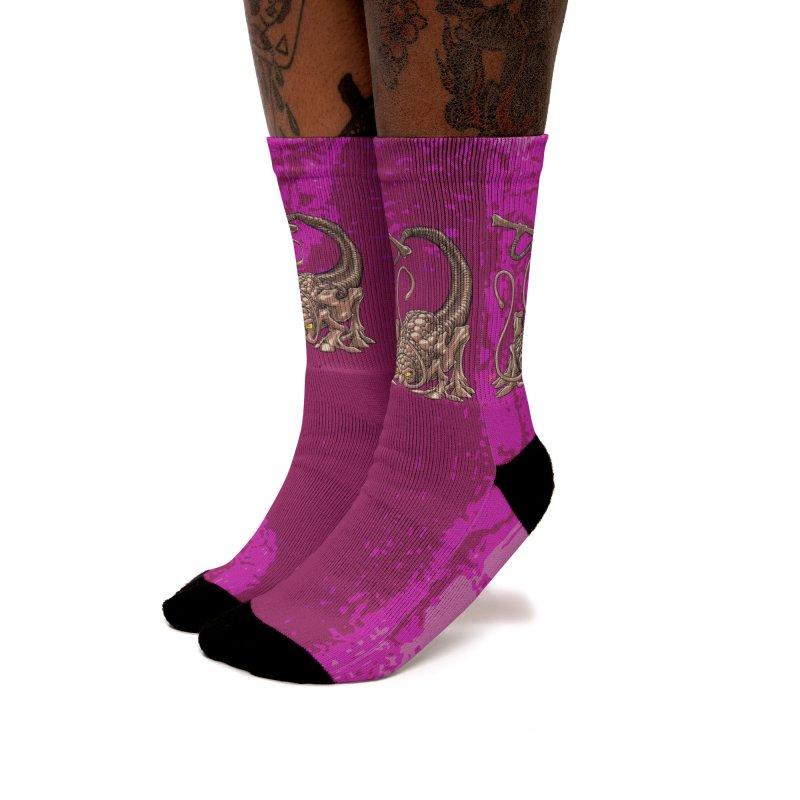 RUST NEVER SLEEPS Women's Socks by The Art of Coop
