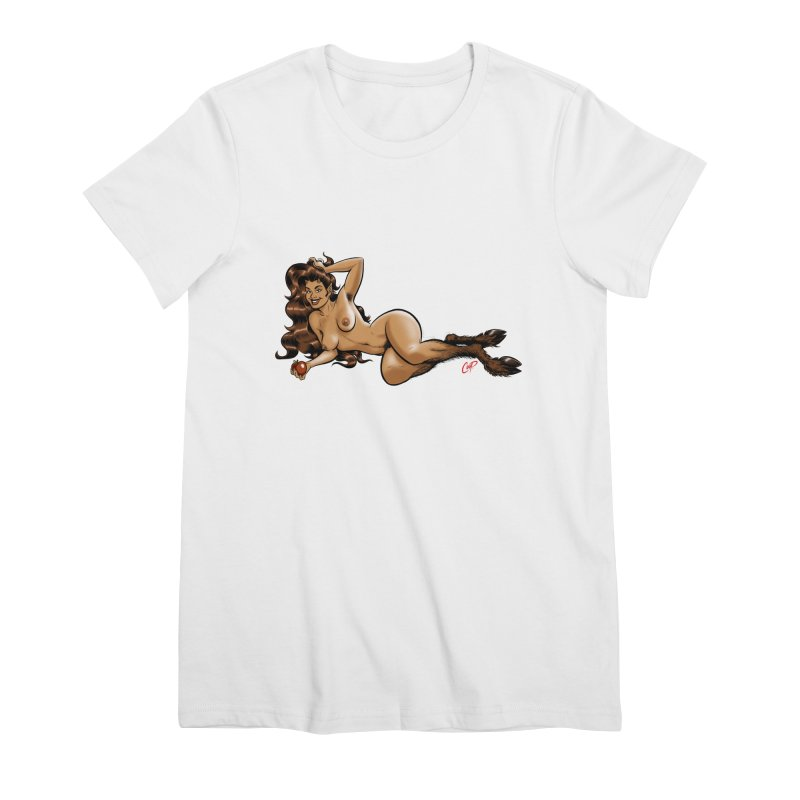 FAUN HAUL Women's Premium T-Shirt by The Art of Coop