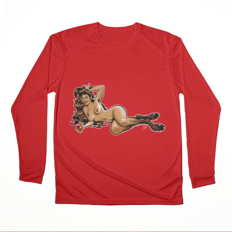 FAUN HAUL Men's Performance Longsleeve T-Shirt by The Art of Coop