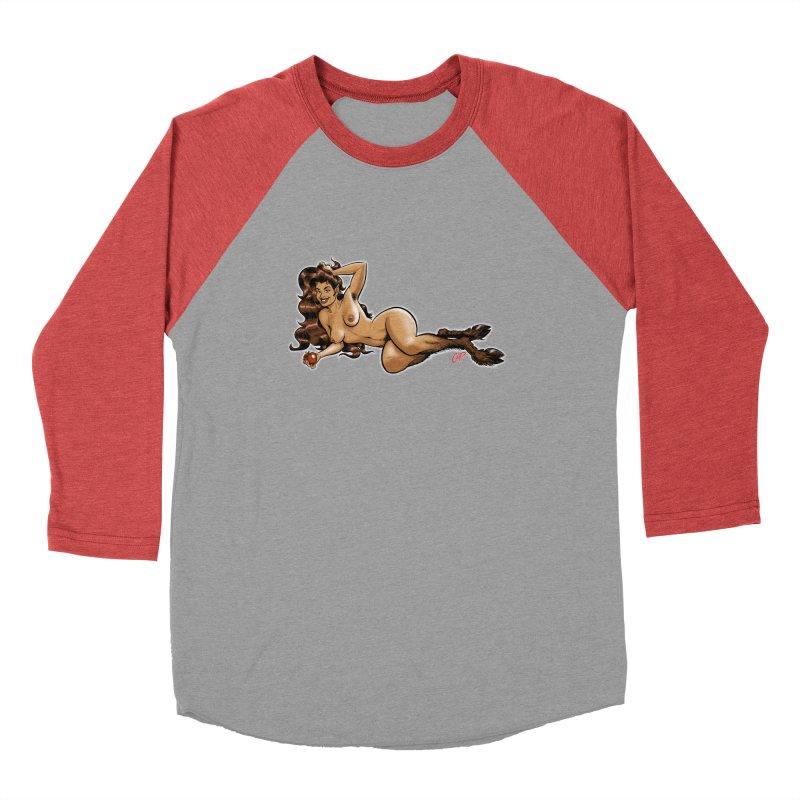 FAUN HAUL Women's Baseball Triblend Longsleeve T-Shirt by The Art of Coop