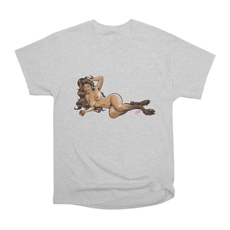 FAUN HAUL Women's Heavyweight Unisex T-Shirt by The Art of Coop
