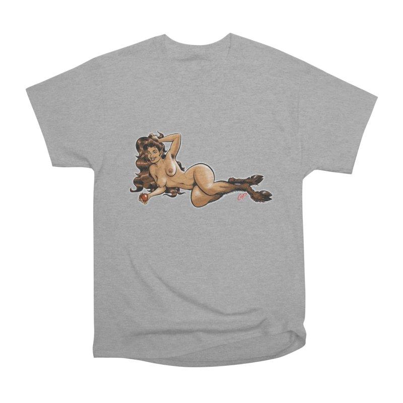 FAUN HAUL Men's Heavyweight T-Shirt by The Art of Coop